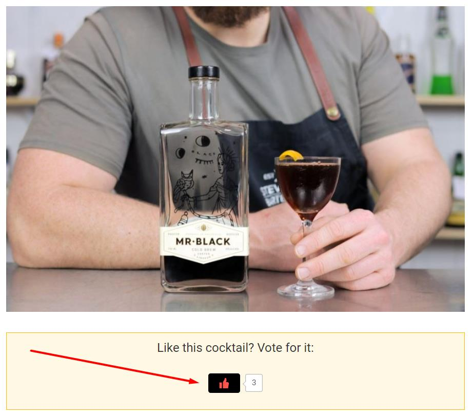 How to Vote Cocktail